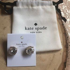 NWT KATE SPADE LARGE GUMDROP EARRINGS !!